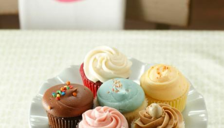 Assortment of cupcakes from Muddys Bakeshop