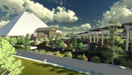 Bass Pro Shop Rendering - Alan Barner OT Marshall Architects