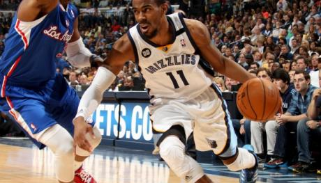 Mike Conley with Memphis Grizzlies: Joe Murphy/NBAE/Getty Images