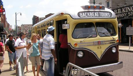 Backbeat Tours boarding: Backbeat Tours