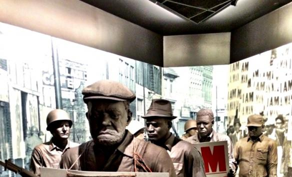 I AM A MAN exhibit - National Civil Rights Museum