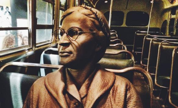 Rosa Parks Bus Boycotts - National Civil Rights Museum - Memphis