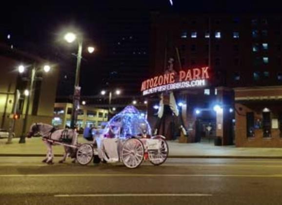 See Memphis up close on a carriage ride. Photo by Andrea Zucker.