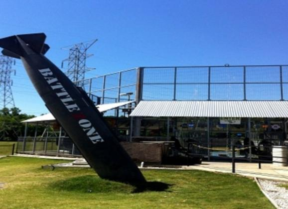 Batting Cages at Putt Putt Golf and Games - Photo by Kerry Crawford