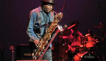 International blues challenge saxophone player