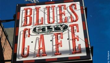 Blues City Cafe on World-Famous Beale Street. Photo by Becky Rodgers.