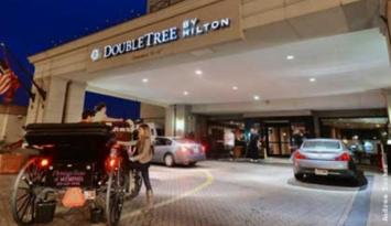 DoubleTree by Hilton Memphis Downtown is across the street from AutoZone Park, home of the Memphis Redbirds, and within walking distance of Beale Street. Photo by Andrea Zucker.