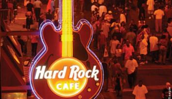 Hard Rock Cafe on World-Famous Beale Street. Photo by Troy Glasgow.