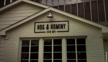 Hog & Hominy. Photo by Kerry Crawford.