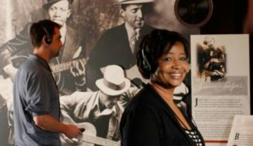 Robert Johnson Exhibit at Memphis Rock 'n' Soul Museum. Photo by Justin Fox Burks.