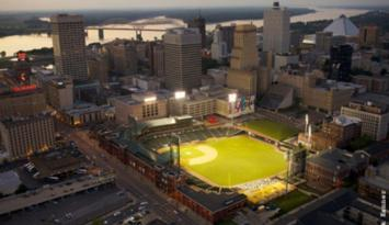 AutoZone Park, home of the Memphis Redbirds. Photo by Jack Kenner.