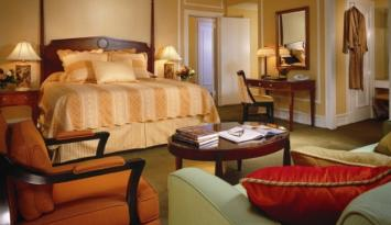 Guest room at The Peabody Memphis. Photo courtesy of The Peabody Memphis.