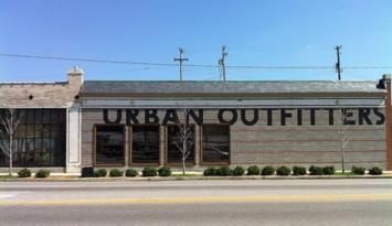 Urban Outfitters, seen from Cooper St. Photo by Kerry Crawford.