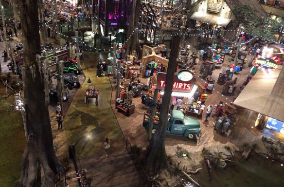 Shopping at Bass Pro Shops at the Pyramid, Memphis