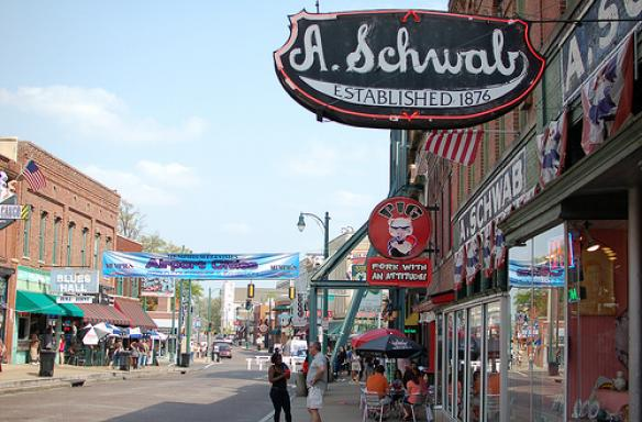 A Schwabs on Beale Street Memphis