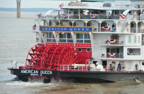 Paddlewheel of the American Queen