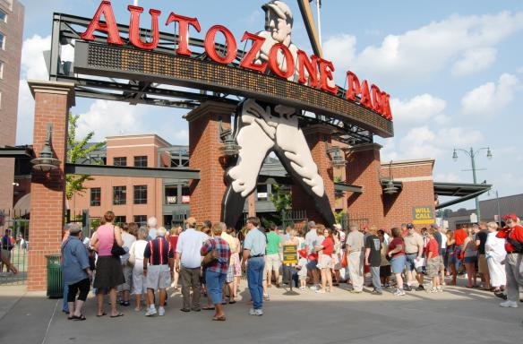 AutoZone Park. Photo Credit: Allison Rhoades