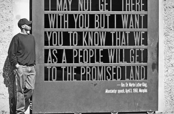 Mountaintop speech quote National Civil Rights Museum
